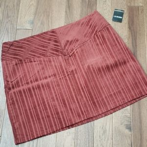 Forever 21 Rust Corduroy Skirt Size 3X